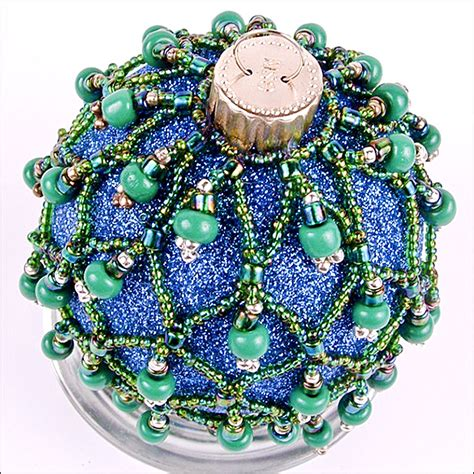 ornaments bead ornament countdown beaded glass the