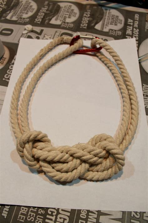 how to make rope jewelry 25 best ideas about nautical rope on nautical