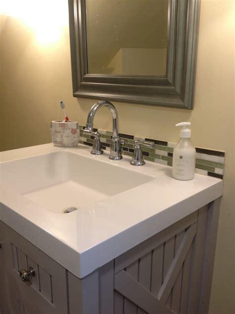 backsplash ideas for bathrooms 30 amazing ideas about framing a bathroom mirror with