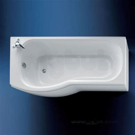 ideal standard shower bath 1700 ideal standard alto e7602 1700 x 800 lh nth shower bath wh