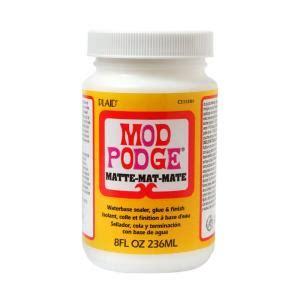 is decoupage and mod podge the same mod podge 8 oz matte decoupage glue cs11301 the home depot
