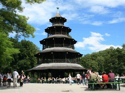 Englischer Garten München Sehenswürdigkeiten by M 252 Nchen Chinesischer Turm
