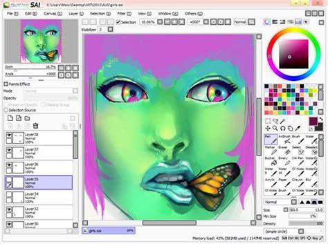 paint tool sai file paint tool sai file extensions