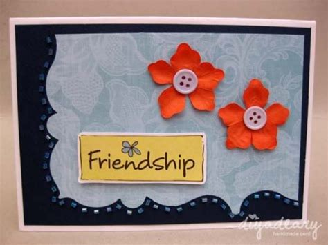 how to make greeting cards for friendship day happy friendship day cards for best friend handmade