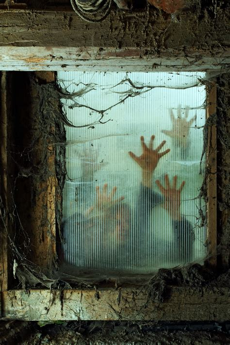 ideas scary window decorations ideas to spook up your neighbors