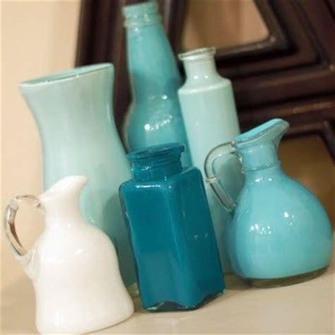 acrylic paint jugs how to paint inside glass bottles jars glass bottles
