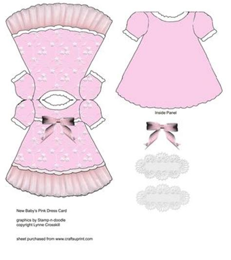 baby dress card cup151429 866 craftsuprint