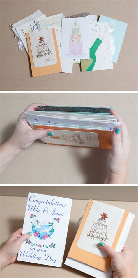 how to make personalized cards how to diy an adorable album to save special greeting cards