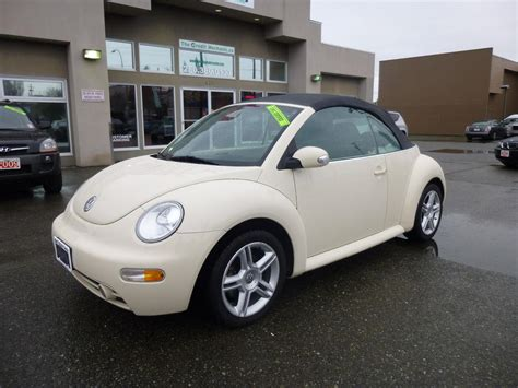 2004 Volkswagen Beetle Convertible by 2004 Volkswagen Beetle Convertible Outside Nanaimo
