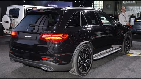 Mercedes In Ny by Mercedes Amg Glc43 Arrives In New York With 362 Hp