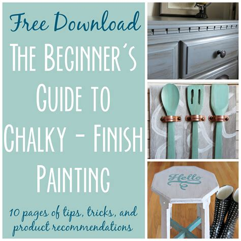 chalk paint tips for beginners the beginner s guide to chalky finish painting
