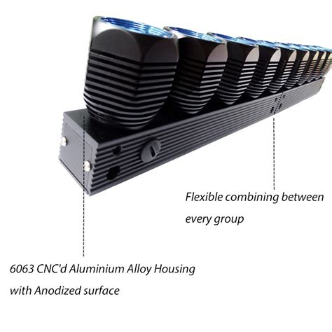 4x4 led light bar newest design in america diy 4x4 led light bar modular led