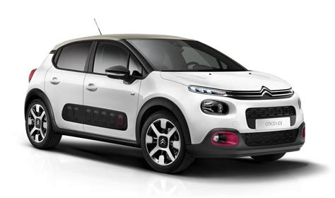 C3 Citroen by 2018 Citroen C3 Special Edition Has Cherry Pink Accents