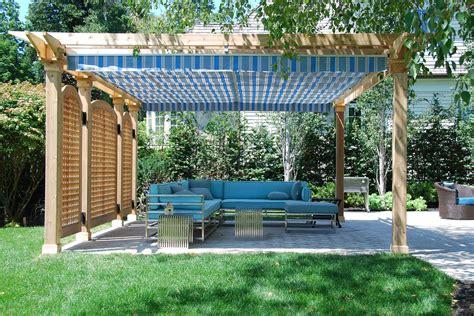 pergola canopy kit images
