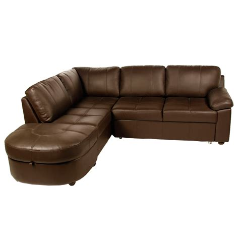 sofa corner beds uk lina leather corner sofa bed next day delivery lina