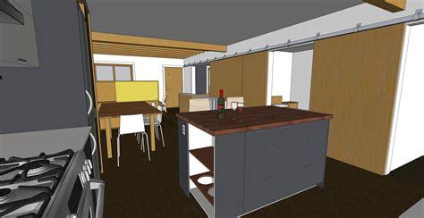 sketchup kitchen design http chezerbey modern 3d shelf unit for your living room modern diy