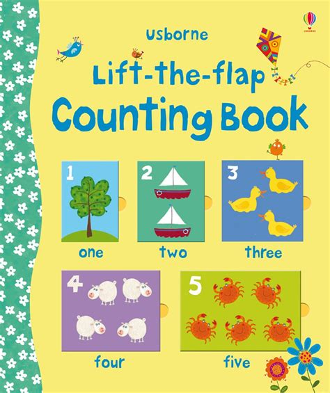 counting picture books lift the flap counting book at usborne children s books