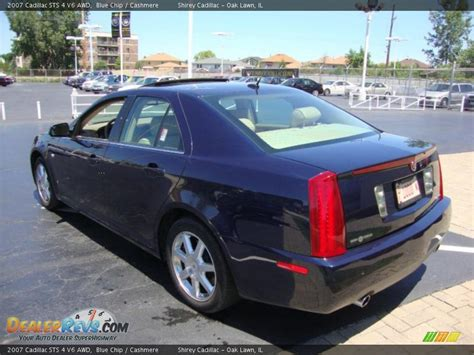 2007 Cadillac Sts 4 by 2007 Cadillac Sts 4 V6 Awd Blue Chip Photo 6