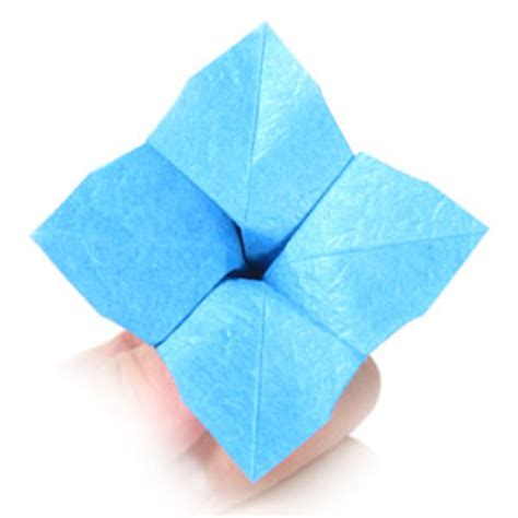 origami hydrangea how to make an origami hydrangea flower page 11