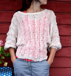 pickles knitting ravelry late summer sweater sensommer genser pattern by