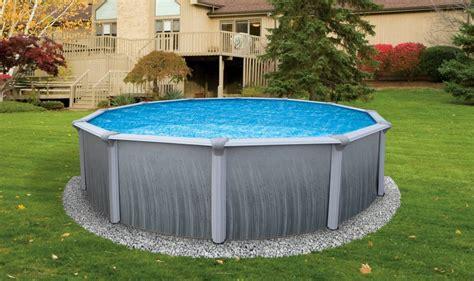 backyard pools above ground triyae backyard above ground swimming pool ideas