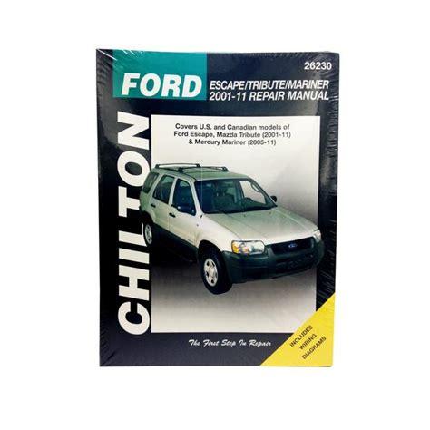 chilton car manuals free download 2011 mercury mariner parking system chilton 26230 repair manual 2001 11 ford escape mazda tribute northern auto parts