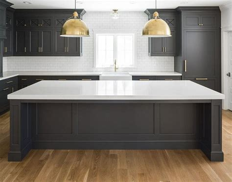 black oak kitchen cabinets 25 best ideas about black kitchen island on