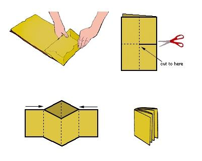 make a book of pictures how to make a paper bag book make make