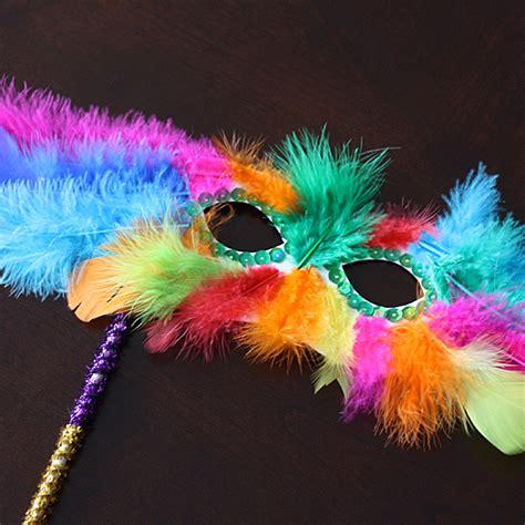mardi gras crafts for feathery mask for mardi gras crafts by amanda