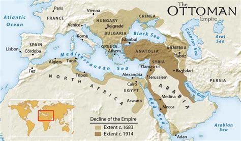ottoman islam map of ottoman empire with history facts istanbul