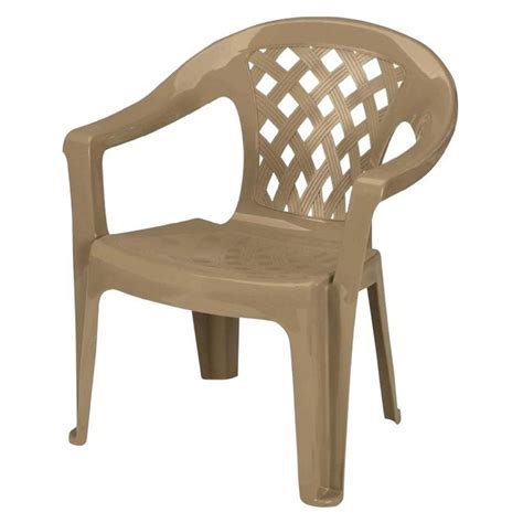 Stackable Chairs by Furniture Shop Gracious Living Earth Brown Seat