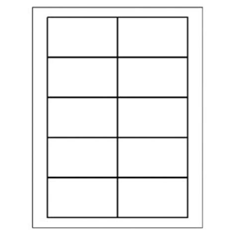 templates business card wide 10 per sheet avery