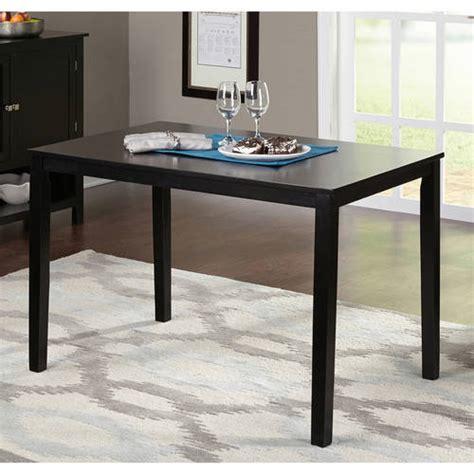 contemporary dining table black walmart com