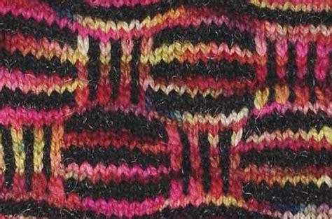 slip stitch mosaic knitting mosaic knitting