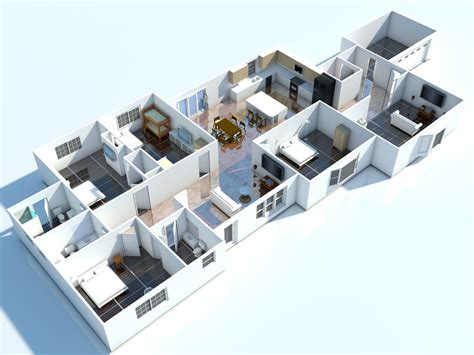3d floor plan design software free interior 3d floor plan 3d floorplans visuals