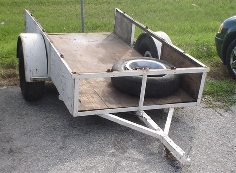 home made trailer