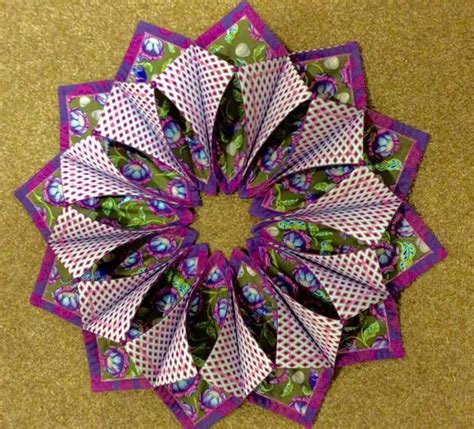 origami sewing table 230 best images about origami candle wreath on