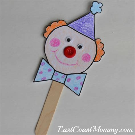 circus crafts for east coast circus crafts with free printable