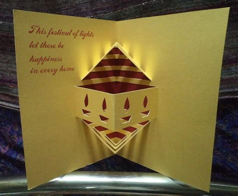 how to make diwali greeting cards pop up diwali cards 7 by writetopaint on deviantart