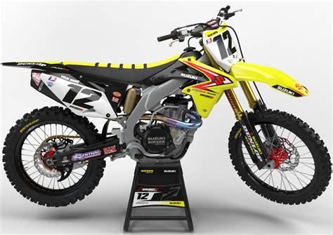 Suzuki Mx by Suzuki Rmz Mx Graphics Motocross Graphics Rmz250 010 016