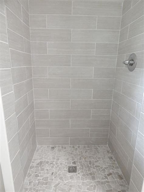bathroom shower tile 25 best ideas about pebble tile shower on