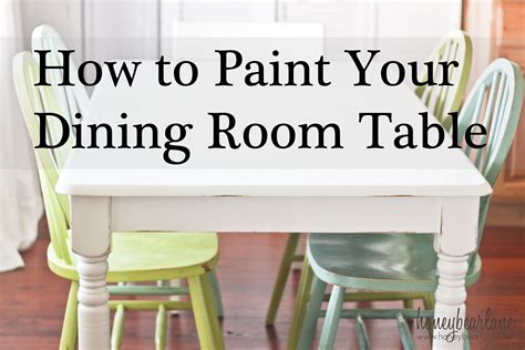 painting a dining room table painting the dining room table a survivor s story