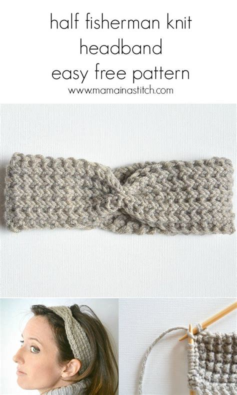 useful things to knit 25 best ideas about knit headband pattern on