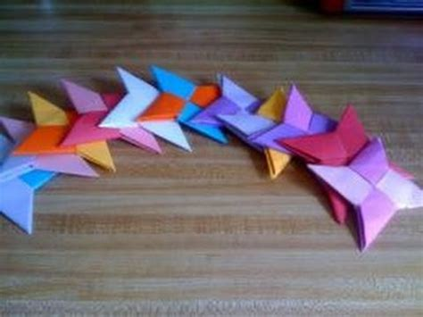 cool crafts made out of paper paper crafts how to make a paper shuriken throwing