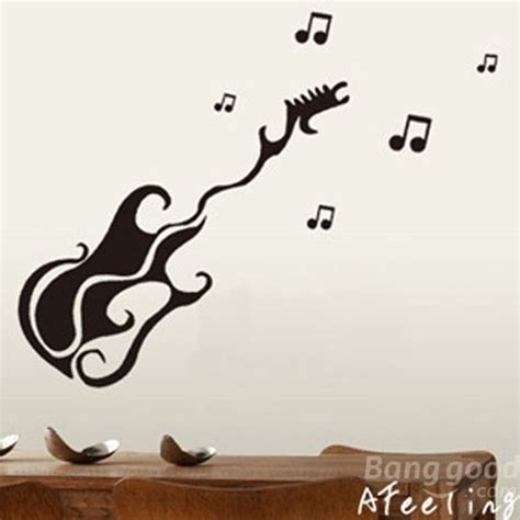 guitar wall stickers wall designs guitar wall removable guitar wall