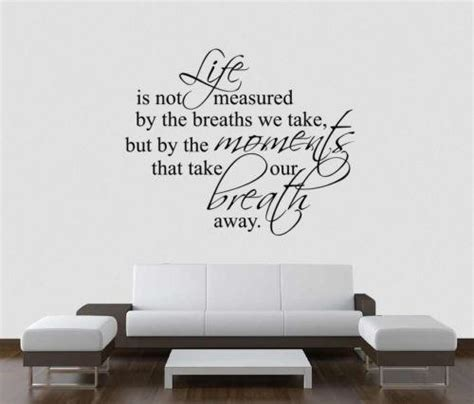 sticker wall quotes home quote wall decals ebay
