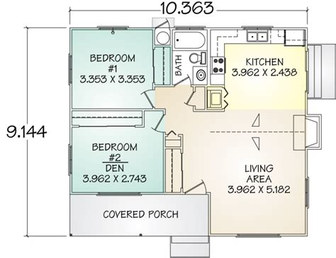 Kitchen Floor Plan Dimensions portola grannyflat pacific modern homes inc