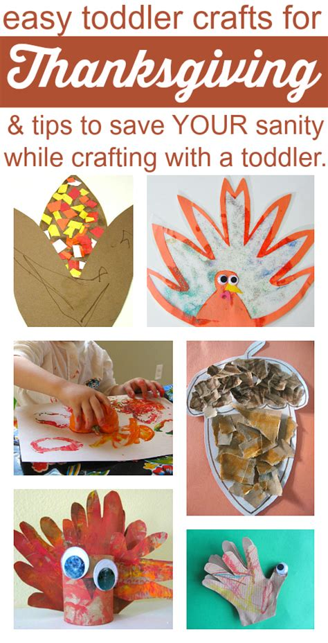 toddler crafts easy easy thanksgiving crafts for toddlers and tips for