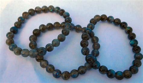 meditation bracelet labradorite bead gemstone wrist mala meditation bracelet