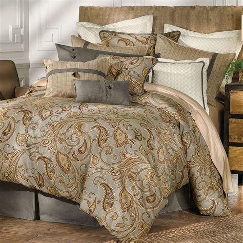 paisley bed sets piedmont paisley comforter bedding